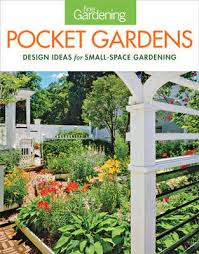 design ideas for small space gardening