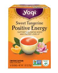 yogi tea sweet tangerine positive