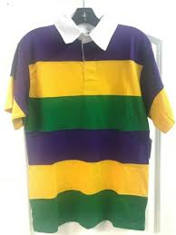 mardi gras stripe purple green yellow