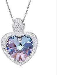 necklace crystal pendant necklace