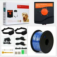 Electric Dog Fence System Hidden Waterproof Rechargeable Pet Containment Dogs Ebay