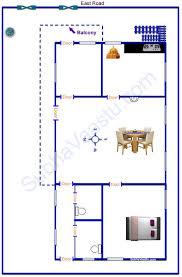east facing vastu house plan 30x40