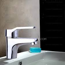 one hole deck mount bathroom sink faucet