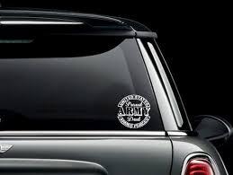 Proud Army Dad Seal Car Truck Van Window Or Bumper Sticker Etsy