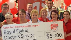 Financial gesture for Pirie's friends of flying doctor   The ...