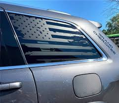 American Flag Side Window Decal For Jeep Grand Cherokee