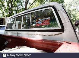 Rear Window Decal High Resolution Stock Photography And Images Alamy