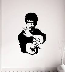 Buy Bruce Lee Wall Sticker Decal By Stickeryard Online People Places Wall Stickers Wall Art Home Decor Pepperfry Product
