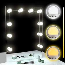 tomnew led vanity mirror lights kit 10