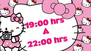 Invitacion Video Digital Hello Kitty Cumpleanos 390 00 En