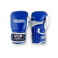 v i p challenger boxing gloves blue