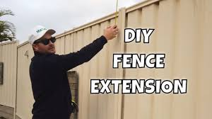Diy Fence Extension To Increase Privacy Youtube