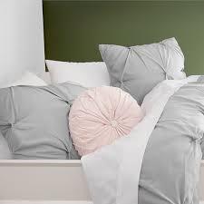 microfiber pintuck comforter shams