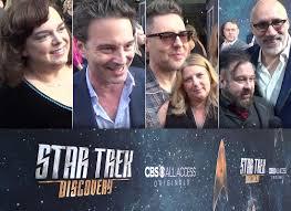 DISCOVERY Interviews: Kirsten Beyer, Jeff Russo, Aaron Harberts & Gretchen  Berg, Glenn Hetrick & Neville Page • TrekCore.com