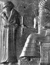 Hammurabi Babylonian King And Lawmaker Poster By Photo Researchers