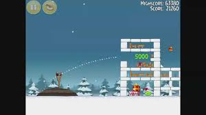 Angry Birds Seasons - Season's Greedings Level 1-17 Walkthrough 3 ...