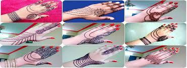 latest hand jewellery mehndi designs