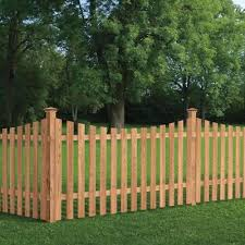 Wood Fencing Fencing The Home Depot