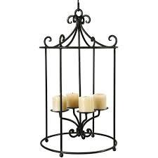 round pillar candle chandelier to