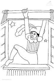 Kleurplaat Sinterklaas Zwarte Piet Kleurplaat Zwarte Piet