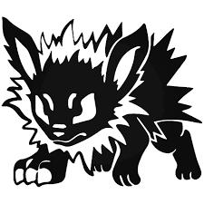 Pokemon Jolteon Gaming Vinyl Decal Sticker