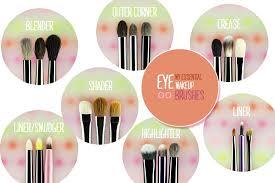 eye makeup brush essentials saubhaya