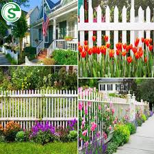 China Decorative Garden Fence Cheap White Vinyl Picket Fencing For Sale Photos Pictures Made In China Com