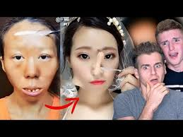 asian make up transformation tutorial