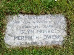 Glyn Munro Meredith-Owens (1921-1997) - Find A Grave Memorial