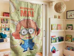 Dispectable Minions Kids Room Divider Cotton Blackout Gabe Jenny Homes