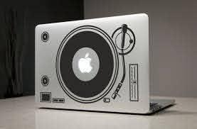 Pin By Joseph Michalski On Music Dj Laptop Stickers Macbook Decal Macbook Decal Stickers