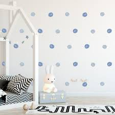 Watercolor Dots Decals Rocky Mountain Decals