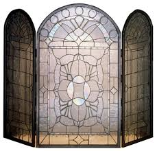 40 x34 beveled glass clear folding