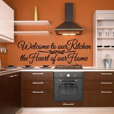 Welcome To Our Kitchen The Heart Of Our Home Wall Decal Style And Apply