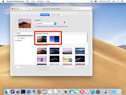 how to enable dynamic desktops in macos