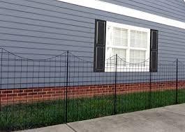 Amazon Com Zippity Outdoor Products Wf29002 Garden Metal Fence 42 1 Box 5 Panels 6 Stakes Garden Outdoor
