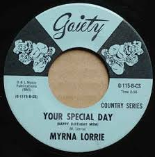 Myrna Lorrie - Your Special Day / Just Count The Tears I'm Gone (1966,  Vinyl) | Discogs