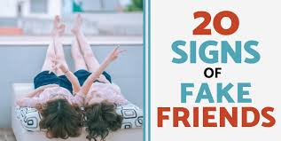 fake friends signs real friends vs fake friends