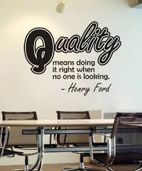 Vinyl Wall Decal Sticker Henry Ford Quality Quote Os Dc506 Vinyl Wall Decals Vinyl Wall Decal Quote Wall Stickers Quotes