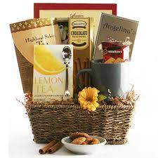 tea cookies tea gift basket