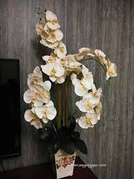 gubah bunga orkid tak susah mana pun