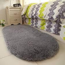 Amazon Com Yoh Super Soft Area Rugs Silky Smooth Bedroom Mats Children Play Rug For Living Room Kids Room For Boys Girls Room Dormitory Kids Room Home Decor Carpet 2 6 X 5 3 Grey Home
