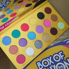 crayons cosmetics eyeshadow palette