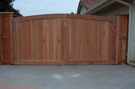 Arch Top Double Drive Wood Gate Wood Fence Gates Garden In The Woods Patio Gates