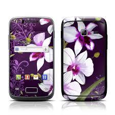 samsung galaxy y duos skin violet