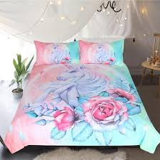 Bedding Outlet Unicorn Bedding Sets Duvet Cover Kids Bedding Sets Twin Lusy Store