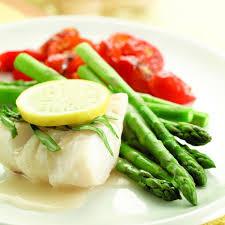 Poached Cod & Asparagus Recipe