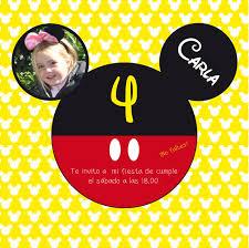 Fiesta De Cumpleanos De Mickey Mouse Paperblog