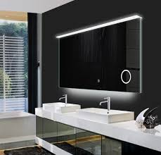 modern vanity ip44 rated led lighted