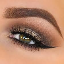 soft eye makeup for brown eyes cat